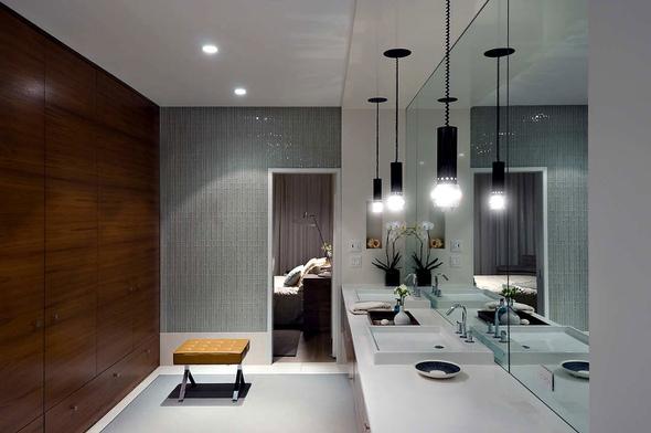 Best Pendant Lighting Ideas For The Modern Bathroom: 9款漂亮的浴室設計作品
