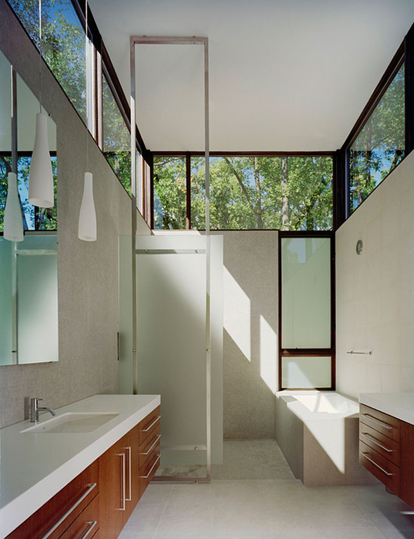 9 2 for Bathroom ideas long narrow space