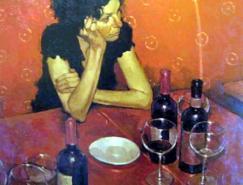 美国现代画家JosehpLorusso作品欣赏