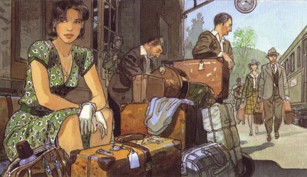 法国漫画家JeanPierreGibrat作品欣赏(3)漫画小姐厄运图片