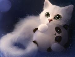 RihardsDonskis超可爱动物插画