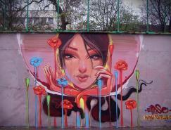 30个国外创意街头涂鸦作品