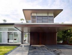 U型现代住宅设计:新加坡Sunset别墅