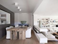 西班牙ViviendaenLlaveneres公寓白色装修设计