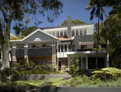 自然与现代建筑交融的别墅设计