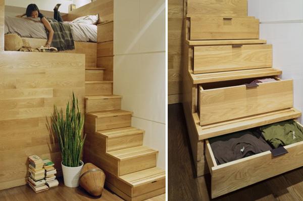 30个创意楼梯存储空间设计(2)