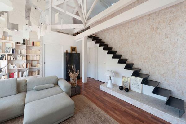 30个创意楼梯存储空间设计(4)