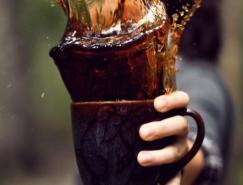高速摄影欣赏:咖啡飞溅