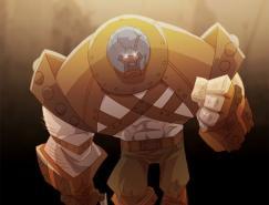 Marvel漫画人物:红坦克(Juggernaut)插画欣赏