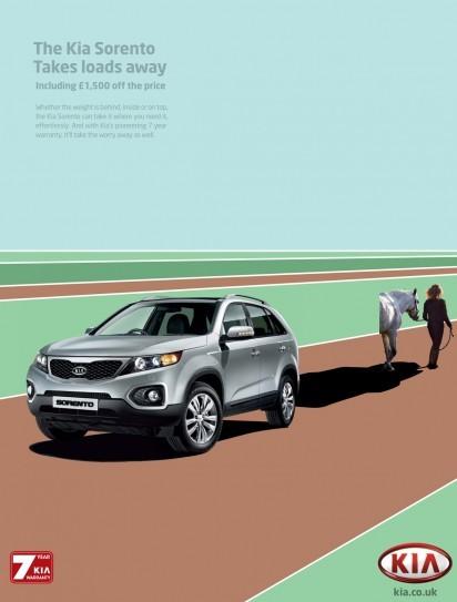 汽车广告欣赏:起亚索兰托(KiaSorento)