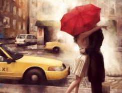 爱的红雨伞:DanielDel&nb