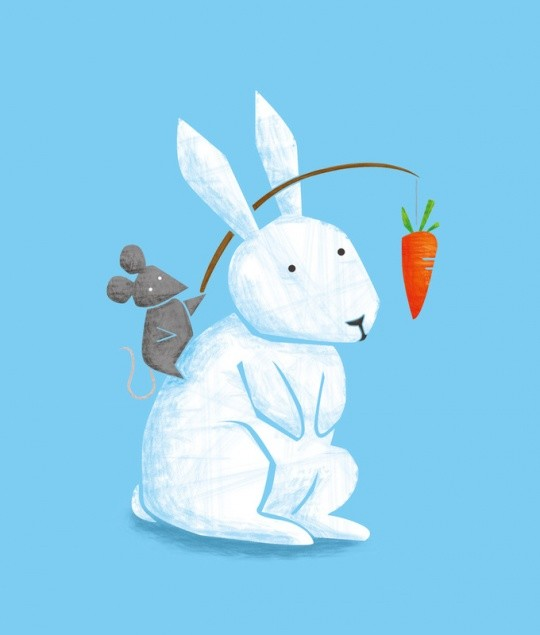 可爱动物插画欣赏(5)