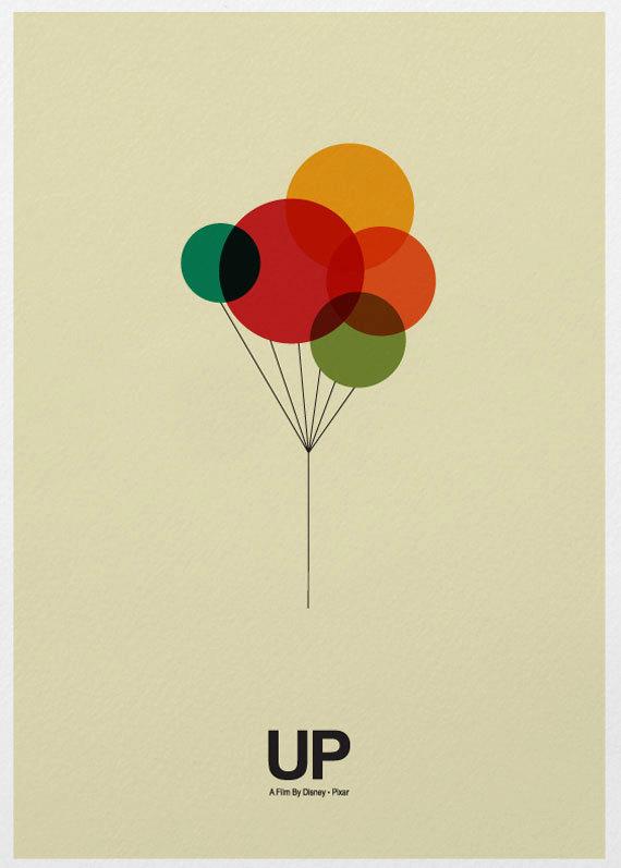 Marcus漂亮的极简风格电影海报 5 设计之家
