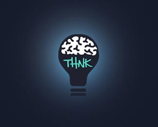 标志设计元素运用实例:大脑