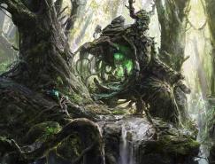 黑暗与神秘的幻想CG艺术作品