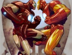 漫画超级英雄人物插画欣赏