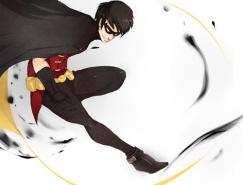 DCComics漫画英雄人物:神童Robin