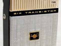 怀旧设计:1960年代老式晶体管收音器