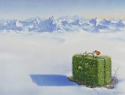 BjornRichter超现实主义插画作品
