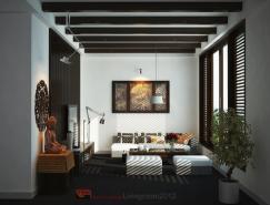 越南VicNguyen室内装修效果图设计