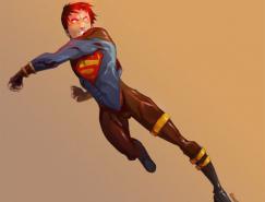 DC漫画英雄人物插画:Superboy