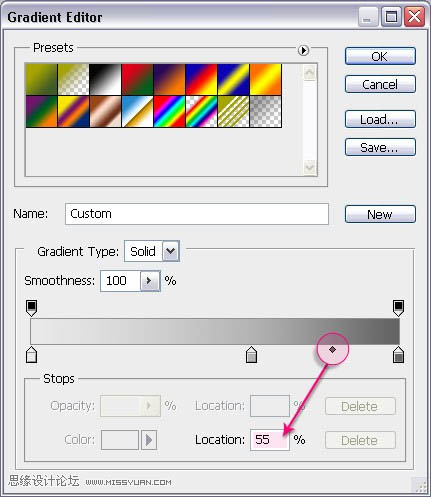 利用画笔制作梦幻漂亮的彩色艺术字