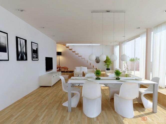 国外客厅和餐厅装修效果图欣赏