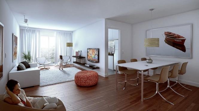 国外客厅和餐厅装修效果图欣赏(2) - 设计之家