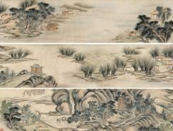 宫廷画家杨晋作品欣赏(一)