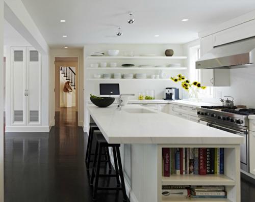 欧式现代开放式厨房设计