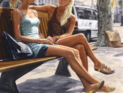 MicheleDelCampo油画作品欣赏