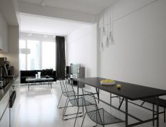 现代简约的黑白Loft设计