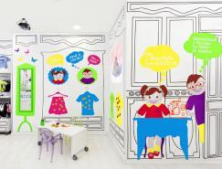 西班牙瓦倫西亞Piccino兒童服裝店設計