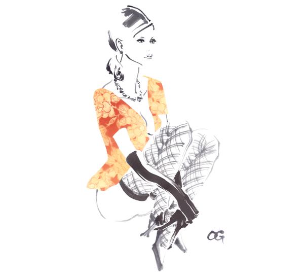 TakeshiOhgushi传统与创新融合的水墨画作品
