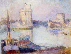 法国印象派画家AlbertLebourg作品欣赏