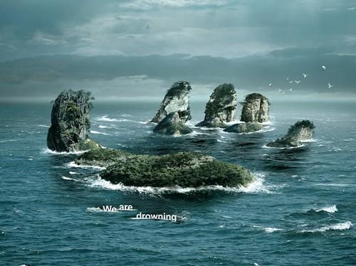 警示全球变暖公益海报设计欣赏(3)