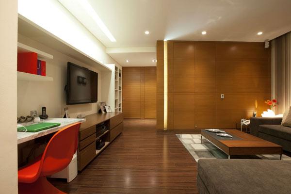 墨西哥Armoni公寓室内设计