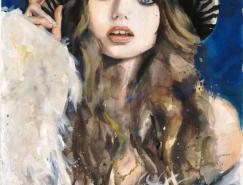 MarcelaGutierrez时尚女性肖像