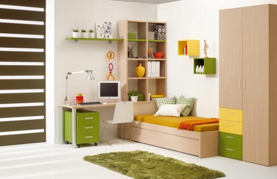 40個兒童和青少年房間設計 5 设计之家