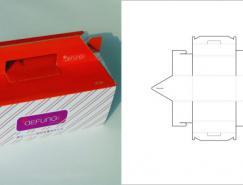 69款包裝結構設計實樣圖和包裝展開分解圖