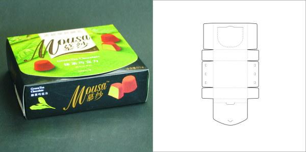 69款包装结构设计实样图和包装展开分解图