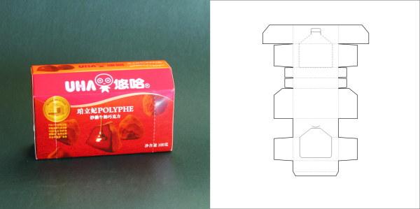 69款包装结构设计实样图和包装展开分解图(2)