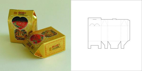 69款包装结构设计实样图和包装展开分解图(3)