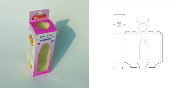 69款包装结构设计实样图和包装展开分解图(4)