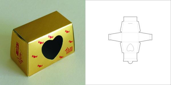69款包装结构设计实样图和包装展开分解图(5)