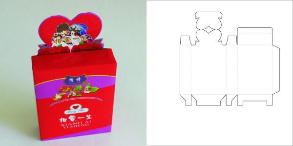 69款包装结构设计实样图和包装展开分解图(6)