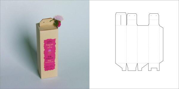 69款包装结构设计实样图和包装展开分解图(7)