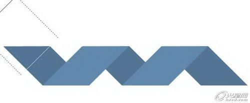 Photoshop轻松打造折纸风格Logo