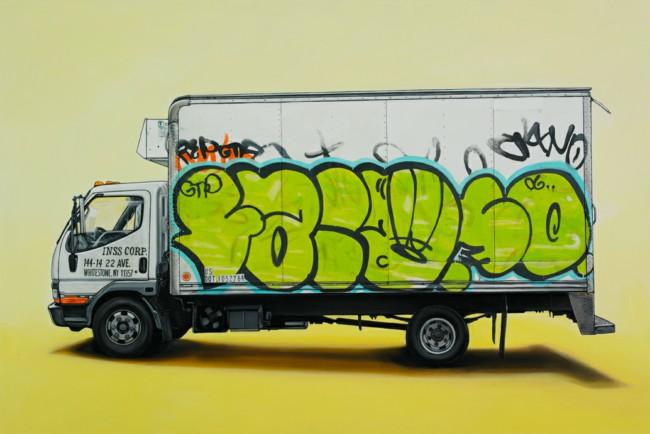 vin Cyr汽车涂鸦作品高清图片