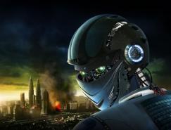 PS鼠绘星球大战中的外太空机